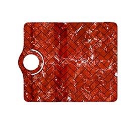 Brick2 Black Marble & Red Marble (r) Kindle Fire Hdx 8 9  Flip 360 Case by trendistuff