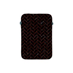 Brick2 Black Marble & Red Marble Apple Ipad Mini Protective Soft Case by trendistuff