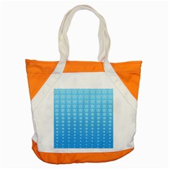 Blue Stars Background Accent Tote Bag by Jojostore
