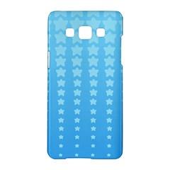 Blue Stars Background Samsung Galaxy A5 Hardshell Case  by Jojostore
