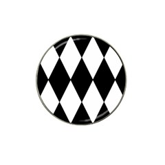 Chevron Black Copy Hat Clip Ball Marker (10 Pack) by Jojostore