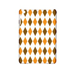 Brown Orange Retro Diamond Copy Ipad Mini 2 Hardshell Cases by Jojostore