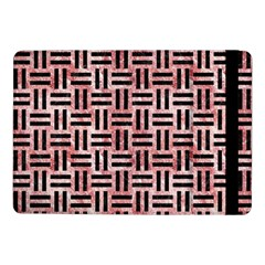 Woven1 Black Marble & Red & White Marble (r) Samsung Galaxy Tab Pro 10 1  Flip Case by trendistuff