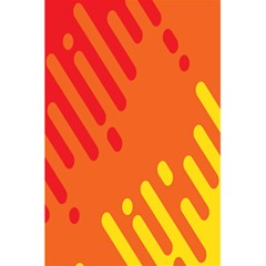 Color Minimalism Red Yellow 5 5  X 8 5  Notebooks by Jojostore