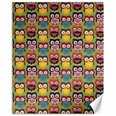 Eye Owl Colorful Cute Animals Bird Copy Canvas 16  X 20   by Jojostore
