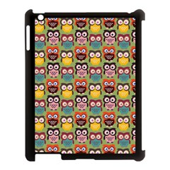 Eye Owl Colorful Cute Animals Bird Copy Apple Ipad 3/4 Case (black) by Jojostore