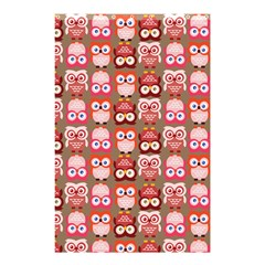 Eye Owl Colorfull Pink Orange Brown Copy Shower Curtain 48  X 72  (small)  by Jojostore