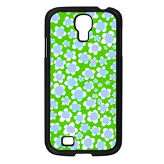 Flower Green Copy Samsung Galaxy S4 I9500/ I9505 Case (black) by Jojostore