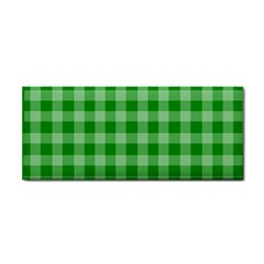 Gingham Background Fabric Texture Cosmetic Storage Cases by Jojostore
