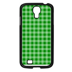 Gingham Background Fabric Texture Samsung Galaxy S4 I9500/ I9505 Case (black) by Jojostore