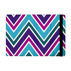 Fetching Chevron White Blue Purple Green Colors Combinations Cream Pink Pretty Peach Gray Glitter Re Apple Ipad Mini Flip Case by Jojostore