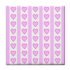 Heart Pink Valentine Day Face Towel by Jojostore