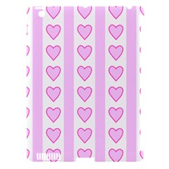 Heart Pink Valentine Day Apple Ipad 3/4 Hardshell Case (compatible With Smart Cover) by Jojostore
