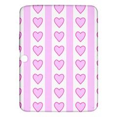 Heart Pink Valentine Day Samsung Galaxy Tab 3 (10 1 ) P5200 Hardshell Case  by Jojostore