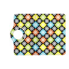 Diamond Argyle Pattern Flower Kindle Fire Hd (2013) Flip 360 Case by Jojostore