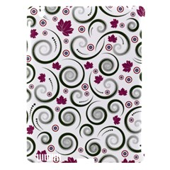 Leaf Back Purple Copy Apple Ipad 3/4 Hardshell Case (compatible With Smart Cover) by Jojostore