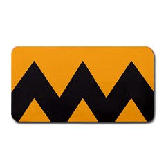 Minimal Modern Simple Orange Medium Bar Mats by Jojostore