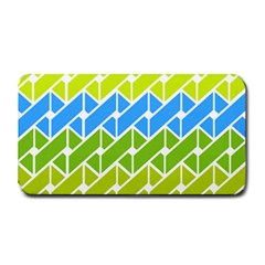 Link Pattern Medium Bar Mats by Jojostore