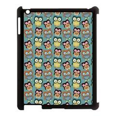 Owl Eye Blue Bird Copy Apple Ipad 3/4 Case (black) by Jojostore