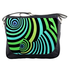 Optical Illusions Checkered Basic Optical Bending Pictures Cat Messenger Bags by Jojostore