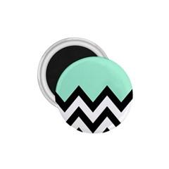 Mint Green Chevron 1 75  Magnets by Jojostore