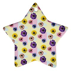 Monster Eye Flower Ornament (star)  by Jojostore