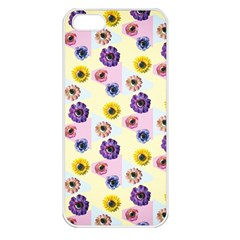 Monster Eye Flower Apple Iphone 5 Seamless Case (white) by Jojostore