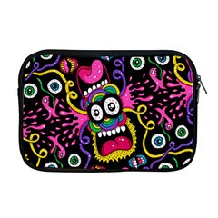 Monster Face Mask Patten Cartoons Apple Macbook Pro 17  Zipper Case by Jojostore