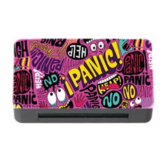 Panic Pattern Memory Card Reader With Cf by Jojostore