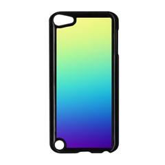 Purple Blue Green Apple Ipod Touch 5 Case (black) by Jojostore
