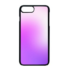 Purple White Background Bright Spots Apple Iphone 7 Plus Seamless Case (black)