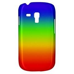 Rainbow Blue Green Pink Orange Galaxy S3 Mini by Jojostore