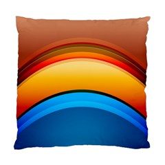 Rainbow Color Standard Cushion Case (two Sides) by Jojostore