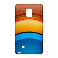 Rainbow Color Galaxy Note Edge by Jojostore