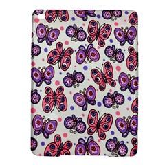 Pink Purple Butterfly Ipad Air 2 Hardshell Cases by Jojostore