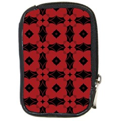 Redtree Flower Red Compact Camera Cases