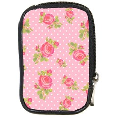 Rose Pink Compact Camera Cases by Jojostore