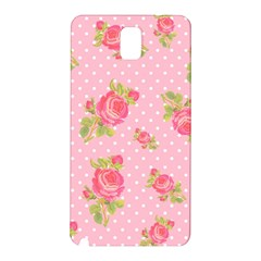 Rose Pink Samsung Galaxy Note 3 N9005 Hardshell Back Case by Jojostore