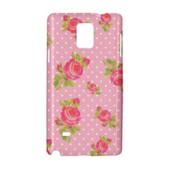 Rose Pink Samsung Galaxy Note 4 Hardshell Case by Jojostore