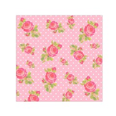 Rose Pink Small Satin Scarf (square) by Jojostore