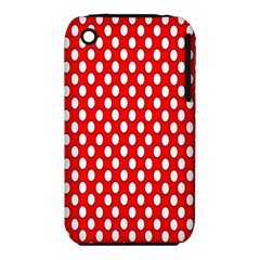 Red Circular Pattern Iphone 3s/3gs by Jojostore