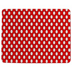 Red Circular Pattern Jigsaw Puzzle Photo Stand (rectangular) by Jojostore