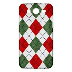Red Green White Argyle Navy Samsung Galaxy Mega 5 8 I9152 Hardshell Case  by Jojostore