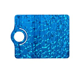 Shattered Blue Glass Kindle Fire Hd (2013) Flip 360 Case by Jojostore
