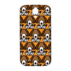 Sitbeagle Dog Orange Samsung Galaxy S4 I9500/i9505  Hardshell Back Case by Jojostore