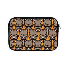 Sitcat Orange Brown Apple Ipad Mini Zipper Cases by Jojostore