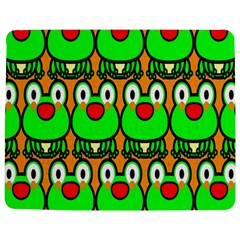 Sitfrog Orange Face Green Frog Copy Jigsaw Puzzle Photo Stand (rectangular) by Jojostore