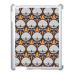 Sitpersian Cat Orange Apple Ipad 3/4 Case (white) by Jojostore