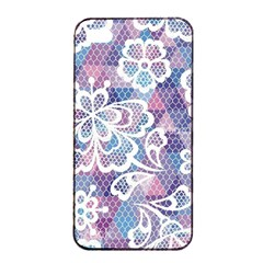 Cute  Colorful Nenuphar Phone Case Apple Iphone 4/4s Seamless Case (black) by Brittlevirginclothing