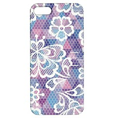 Cute  Colorful Nenuphar Phone Case Apple Iphone 5 Hardshell Case With Stand by Brittlevirginclothing